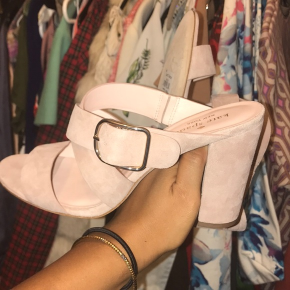 95f10ee0d79a Kate Spade orchid heels fawn (light pink)